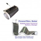 PANEL SOLAR FLEXIBLE POWERFILM 10W 12V