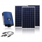KIT FOTOVOLTAICO ON-GRID 5000W PARA RED TRIFÁSICA