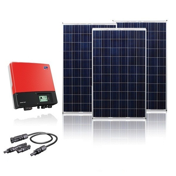 KIT FOTOVOLTAICO ON-GRID 5000W ZONA COSTERA