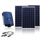 KIT FOTOVOLTAICO ON-GRID 10KW PARA RED TRIFÁSICA
